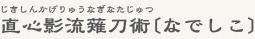大阪府堺市の薙刀(なぎなた)直心影流薙刀術 なでしこ